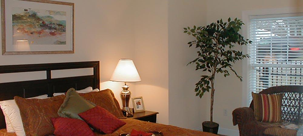 Deemers Landing apartment bedroom