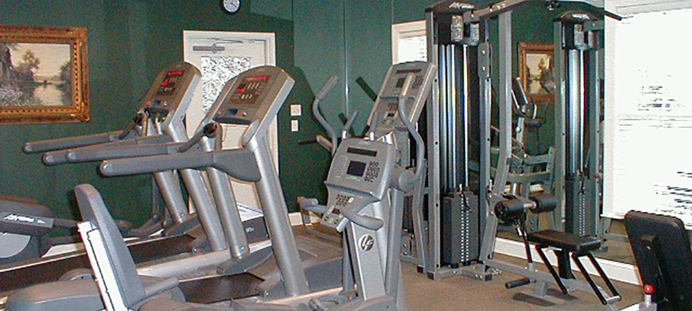 Deemer's Landing fitness center